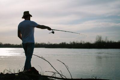 釣りに行く