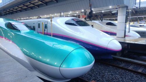 新幹線で帰宅