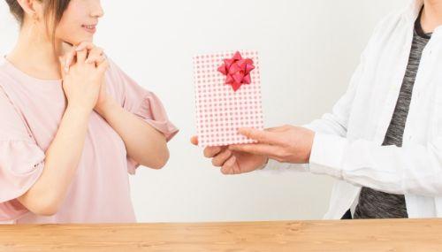 夫から妻への贈り物
