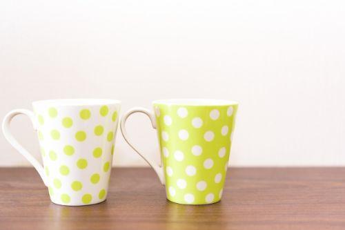 同棲中のコーヒーカップ