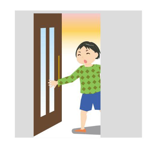 鍵っ子の帰宅